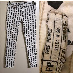 Free People Arrow Jeans